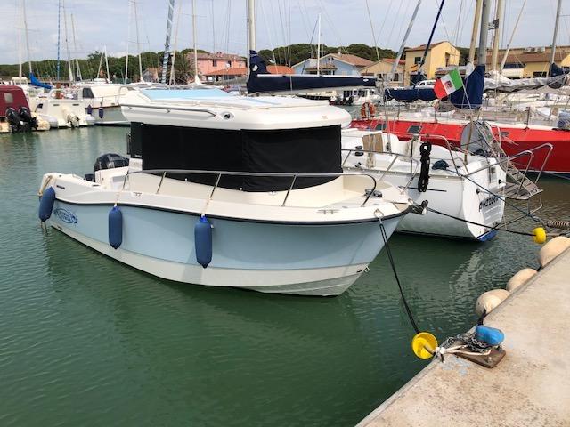 Quicksilver 675 pilothouse usata del 2017