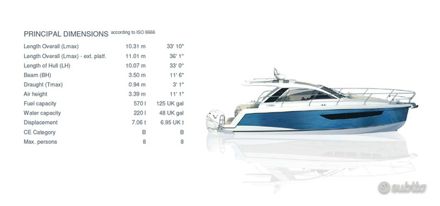 SeaLine S330V PRONTA CONSEGNA