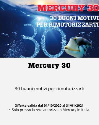 Motore Mercury 400 cv